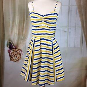 Jack Striped Sleeveless Summer Dress